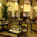 Spacious and relaxed feel for the restaurant