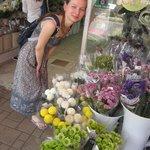 цветочный рынок в Гонконге