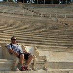 Panathenaic Stadium..kings chair