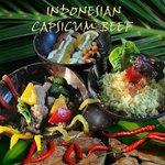 INDONESIAN CAPSICUM BEEF