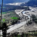 Beautiful 'Pabbar Valley', Pabbar River flowing through Rohru