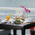 Breakfast - on sundeck