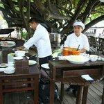 outdoor cook