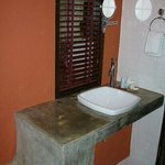 sink toilet area