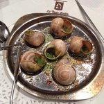 Le escargots