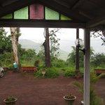 main bungalow verandha