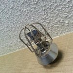 Dust bunnies on fire sprinkler. This is going to save your life in case of fire?!