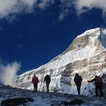 accliamtisation trek on the way to Mera Peak