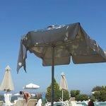 Pool parasol