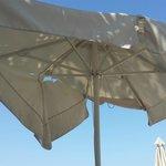 broken parasols