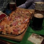 Pizza alla pala bi-gusto :)