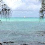 mooi water op Ile aux Cerfs