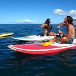 Enjoying the Maui Coastline
