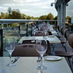 Alfresco dining at Shavan's