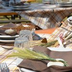 una tavola con un ospite inatteso