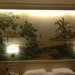 Chambre ( fresque décorative)