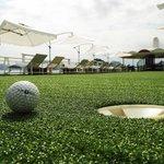 Mini golf on Sundeck