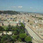 Вид на Ватиканские музеи