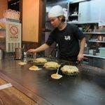 Making Okonomiyakis