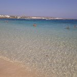 mare spiaggia fronte hotel
