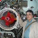 me with NT-37 torpedo on INS Gal