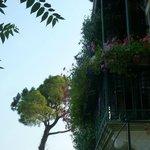 Balkon von Zimmer 6