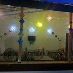 Dining area @ night
