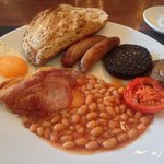 My truly delicious full English