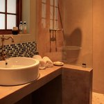 Luxury suite en-suite bathroom with shower only