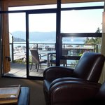 Sitting area, Brentwood Bay Resort & Spa
