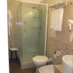 Athena Room:Bagno privato all'interno della camera