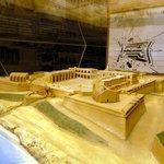 Model of Fort Manoel