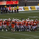 The BC Lions Team