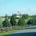 Approaching Bethel Woods to see Sting and the Royal Philharmonic Orchestra