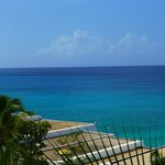 There is no blue so beautiful as the caribbean sea