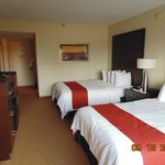 Nice room, but only double beds