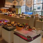 Buffet selection at The Nook