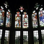 romantic. this was the stainglass in the cadtle