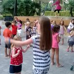 The very short but fun for kids 'disco'