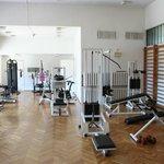 fitnes hall