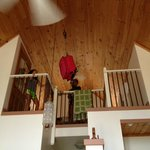 Kids loved the farm pulley system to bring things up to the loft
