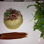 Un chaud froid de foie gras.... Pas mal!!!