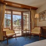 Standard Doppelzimmer mit Matterhornblick