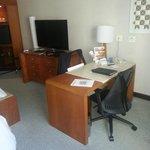 Estação de trabalho no quarto