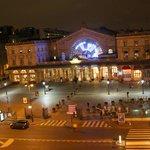 Gare de L'Est - foto noturna
