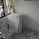 refrigerador en la habitacion