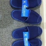 slippers from the Comfort Inn Tokyo Kanda