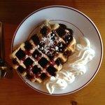 Dominique's legendary waffles!