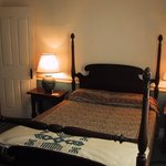 G: Queen bed with private bath (across the hall).