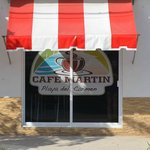 Cafe Martin ... off the beaten trail